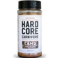 HardCore Carnivore Camo Seasoning 10.5 oz. - The Kansas City BBQ Store