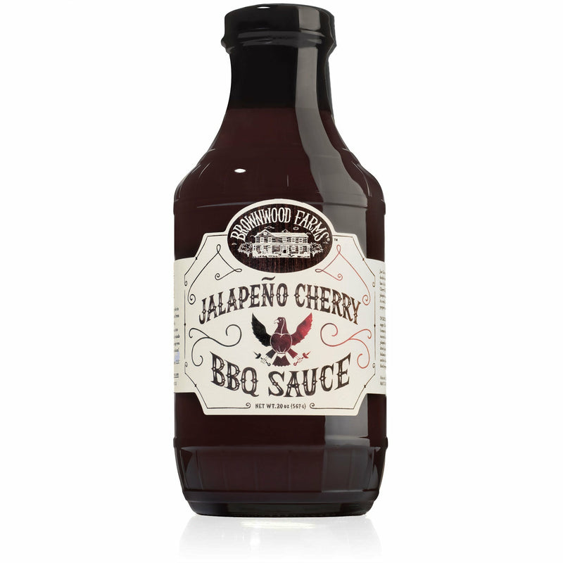 Brownwood Farms Jalapeno Cherry BBQ Sauce 20 oz. - The Kansas City BBQ Store