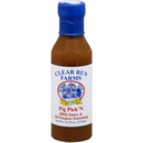 Clear Run Farms Pig Pick'N BBQ Sauce  12.75 oz. - The Kansas City BBQ Store