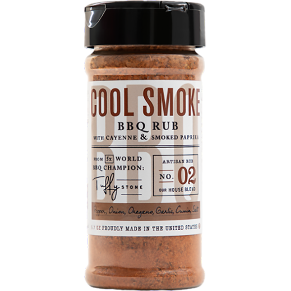 Cool Smoke BBQ Rub 5.7 oz.