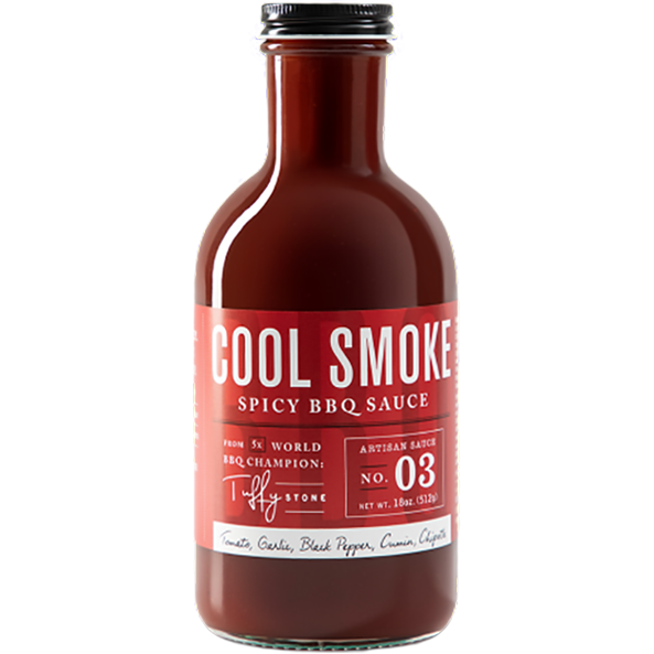 Cool Smoke Spicy BBQ Sauce 18 oz. - The Kansas City BBQ Store