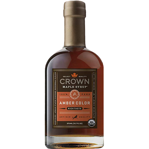 Crown Maple Syrup - Amber 12.7 oz. - The Kansas City BBQ Store