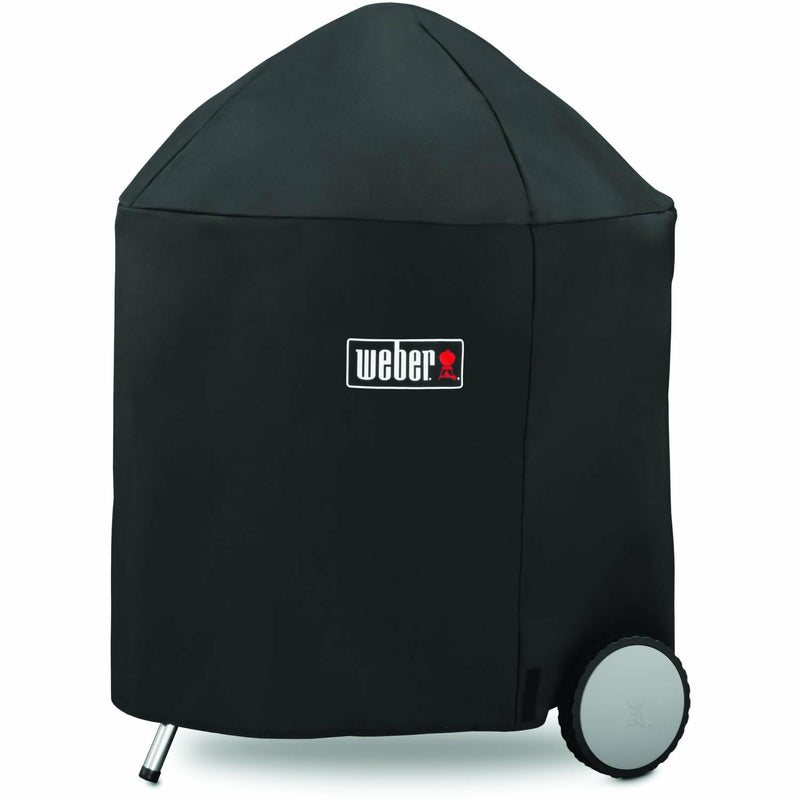 "Weber 22"" Kettle Premium Grill Cover- 7150 - The Kansas City BBQ Store"