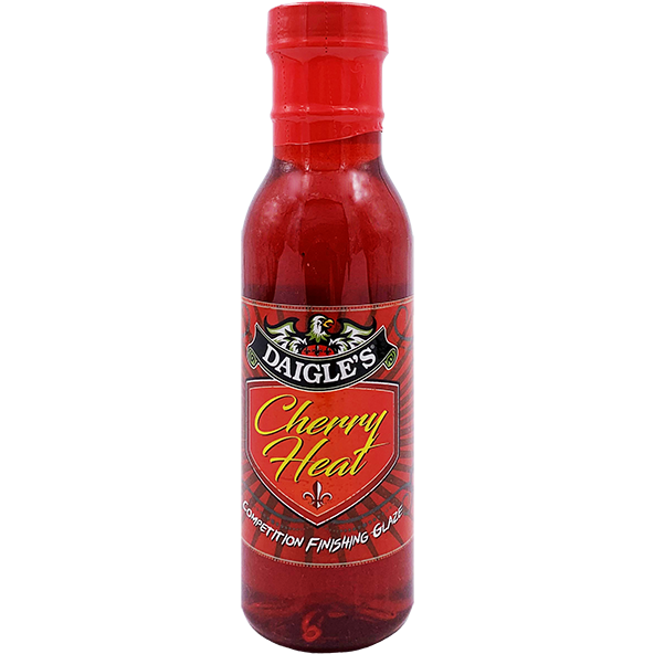 Daigle's Cherry Heat Glaze 12 oz.