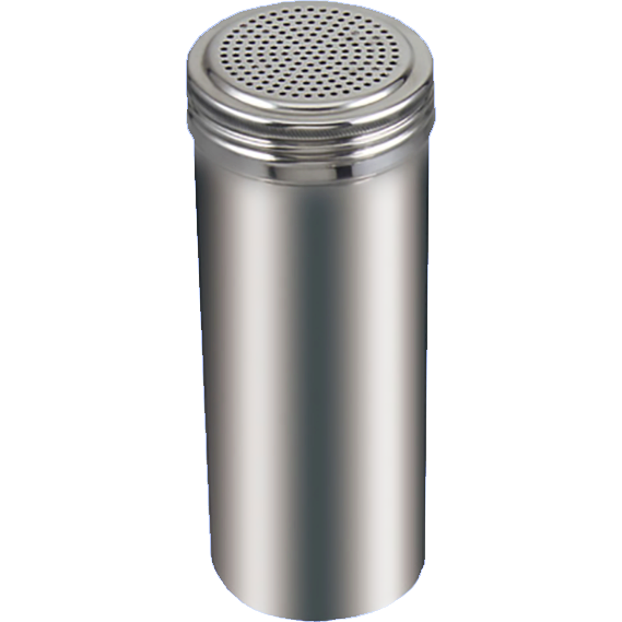 20 oz. Stainless Steel Dredge Shaker