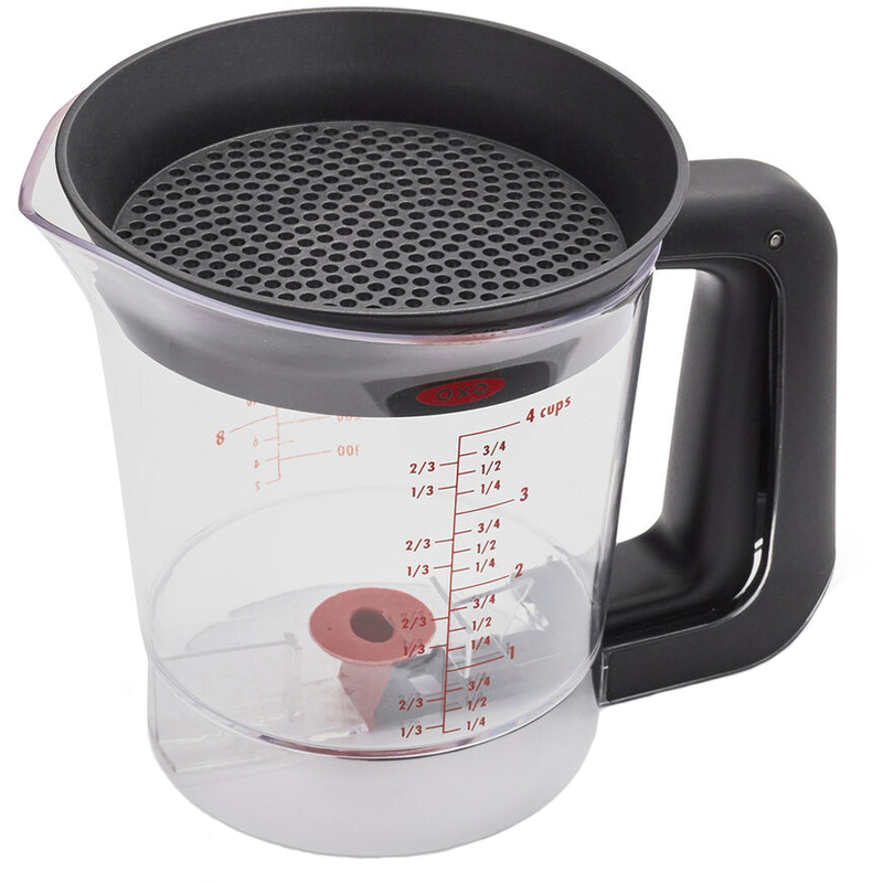 OXO 4 cup Fat/Gravy Separator - The Kansas City BBQ Store