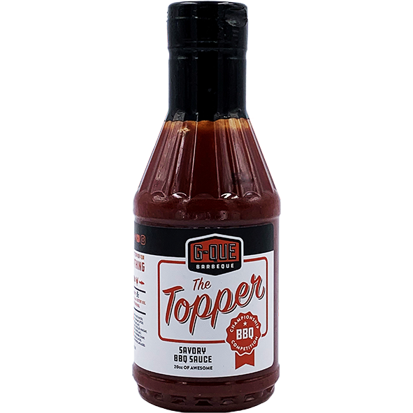 GQue Barbeque The Topper 20 oz. - The Kansas City BBQ Store