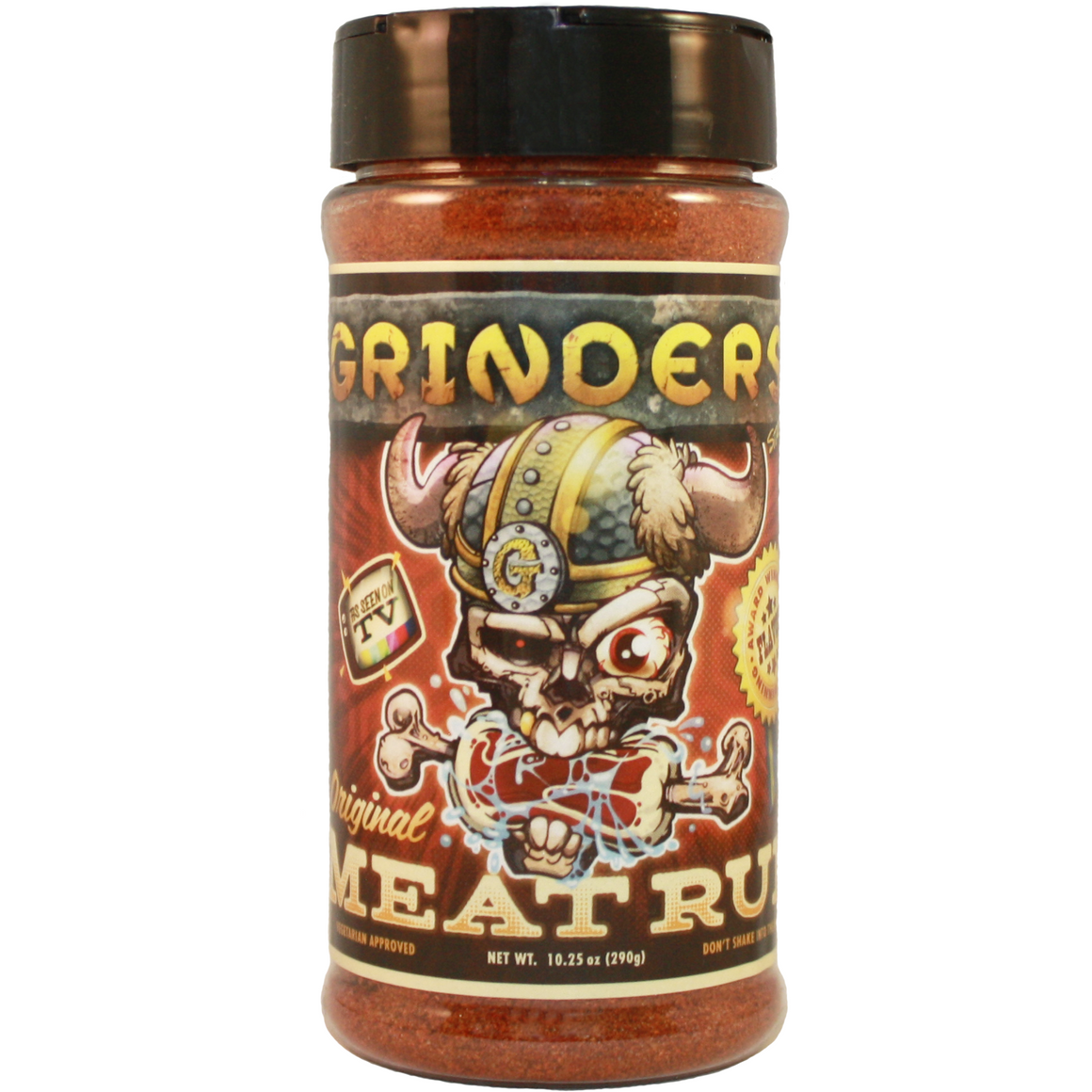 Grinders Meat Rub 10.25oz