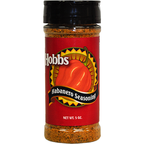 Hobbs Habanero Seasoning 5 oz. - The Kansas City BBQ Store