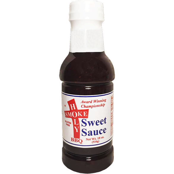 Holy Smoke BBQ Sweet Sauce 18 oz. - The Kansas City BBQ Store
