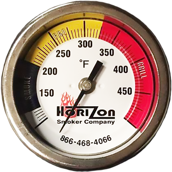 Horizon Smoker 3'' Thermometer