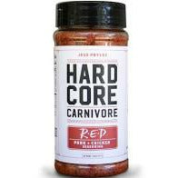 HardCore Carnivore Red Steak & Meat Seasoning 11 oz. - The Kansas City BBQ Store