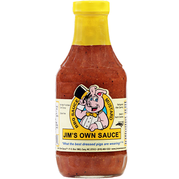 Jim's Own Mustard Bar-B-Que Sauce 16 oz.