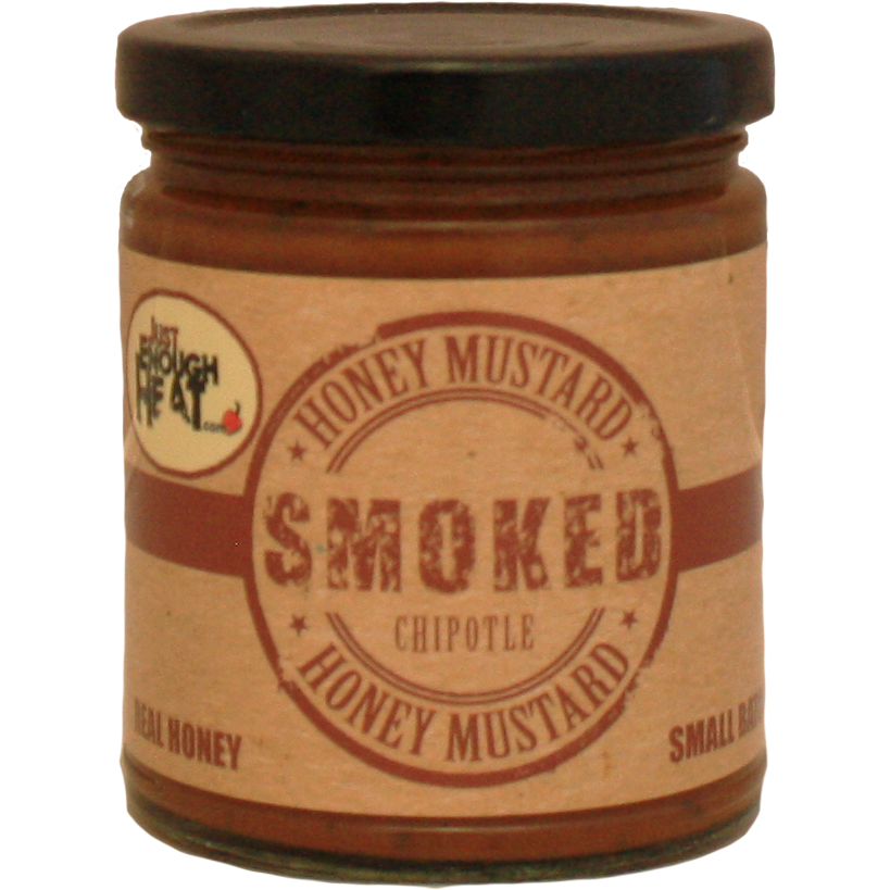 Just Enough Heat Smoked Chipotle Honey Mustard 9.5 oz.