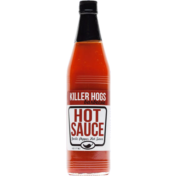 Killer Hogs Garlic Pepper Hot Sauce 18 oz. - The Kansas City BBQ Store