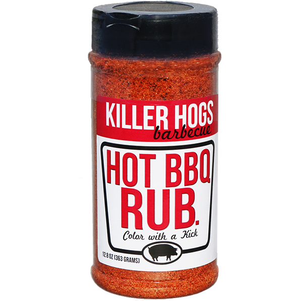 Killer Hogs The Hot BBQ Rub 16 oz. - The Kansas City BBQ Store