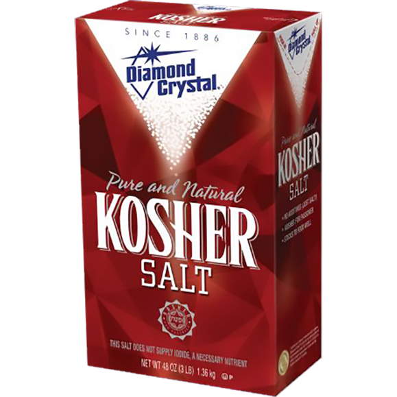 Diamond Crystal Kosher Salt 3 lbs.