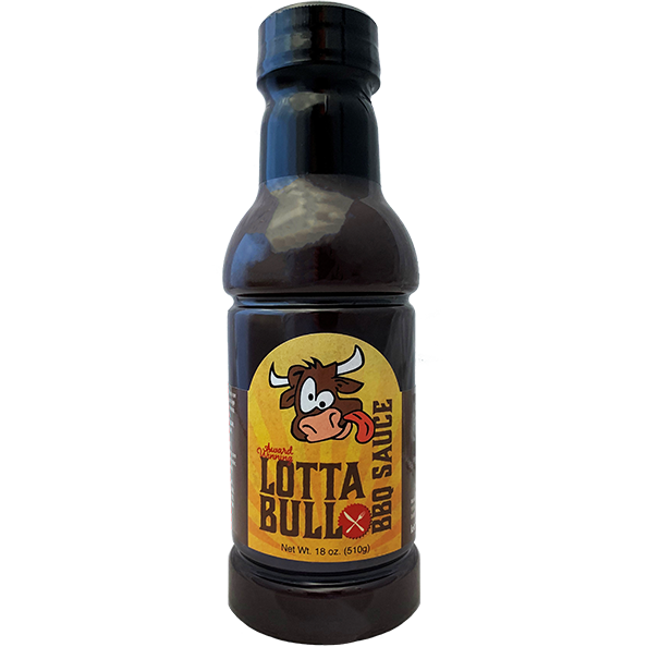 Lotta Bull BBQ Award-Winning Original BBQ Sauce 18 oz.