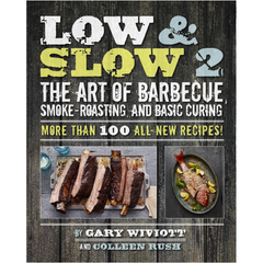 Low & Slow 2: The Art of Barbecue, Smoke-Roasting, and Basic Curing. 100 new recipes, step-by-step instructions, tips, and illustrations for cooking low and slow on four of the most popular charcoal cookers out there
