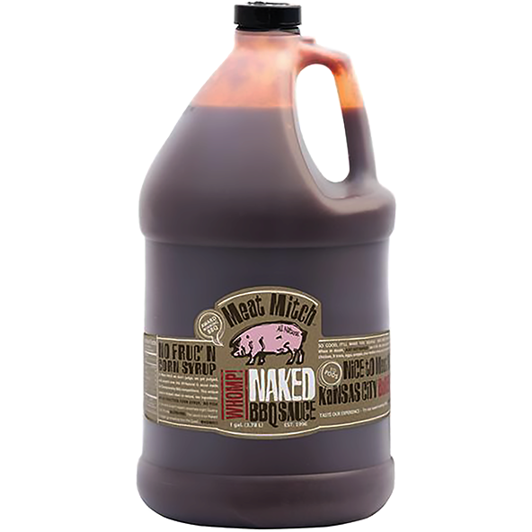 Meat Mitch Naked BBQ Sauce 1 Gallon