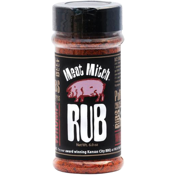 Meat Mitch Rub 6 oz.