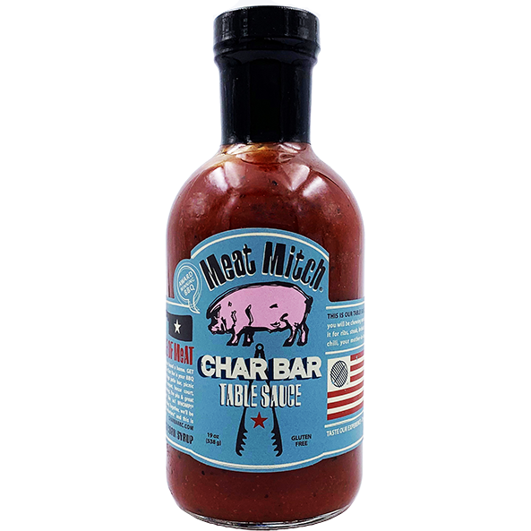 Meat Mitch Char Bar Table Sauce 19 oz. - The Kansas City BBQ Store