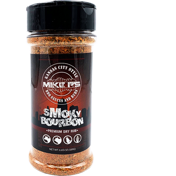 Mike P's Smoky Bourbon Dry Rub 6.65 oz.
