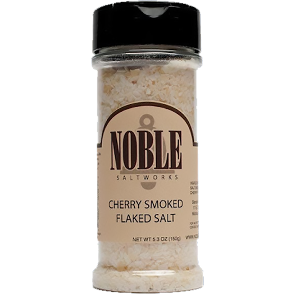 Noble Saltworks Cherrywood Smoked Salt 5.3 oz. - The Kansas City BBQ Store