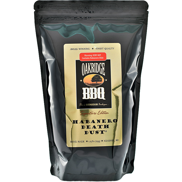 Oakridge BBQ Habanero Death Dust 6 oz.