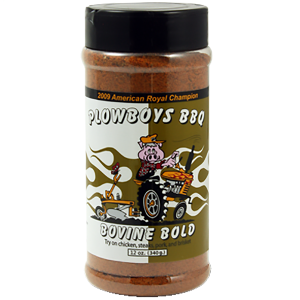 Plowboys BBQ Bovine Bold 12 oz. - The Kansas City BBQ Store