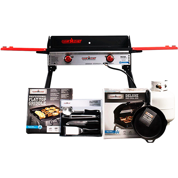 Camp Chef Pro 90X Grill/Griddle Package