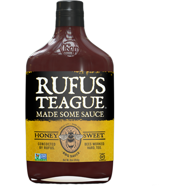 Rufus Teague Honey Sweet Barbecue Sauce 16 oz.