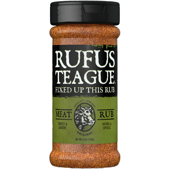 Rufus Teague Meat Rub 6.5 oz.