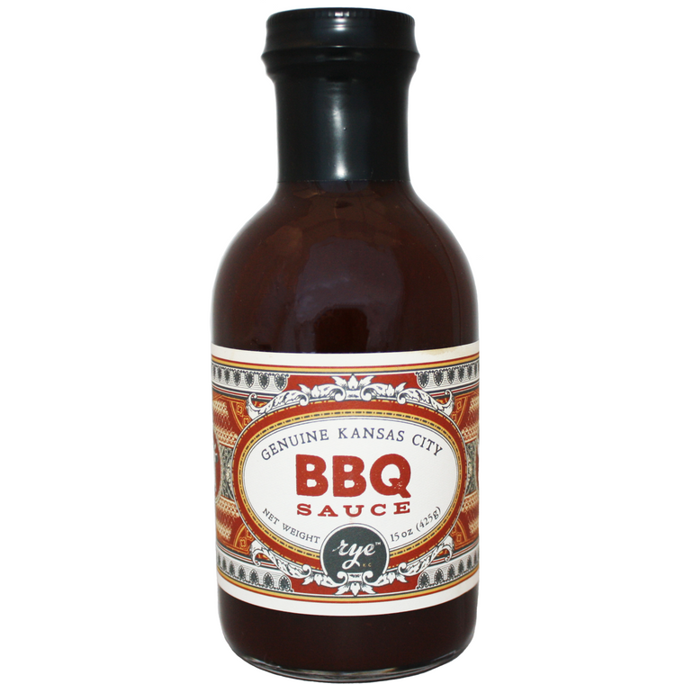 Rye Genuine Kansas City BBQ Sauce 15 oz.