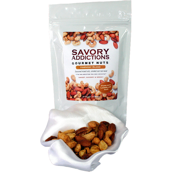 Savory Addictions Gourmet Nuts Harvest Blend 14 oz.