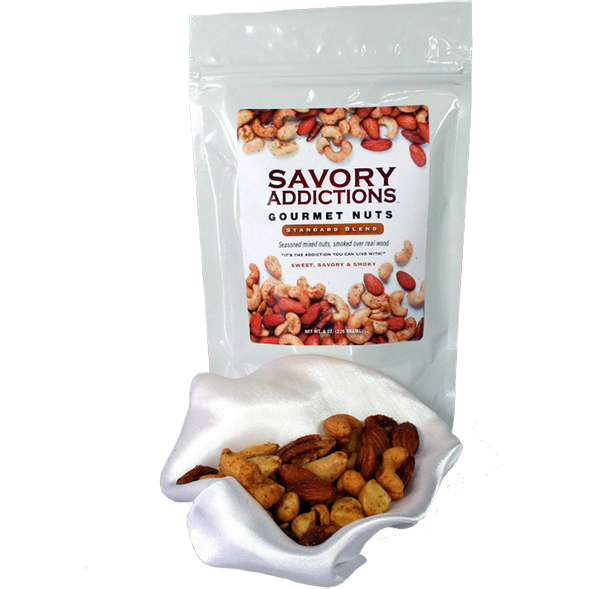 Savory Addictions Gourmet Nuts Original Blend 14 oz.