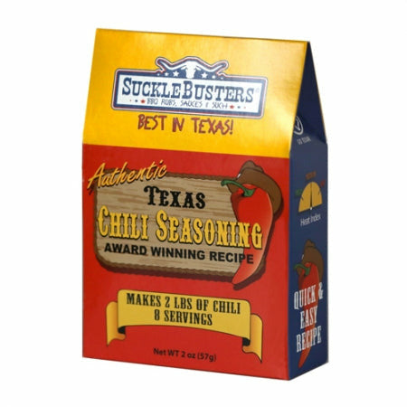 Suckle Busters Texas Chili Seasoning 2 oz. - The Kansas City BBQ Store