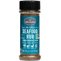 Fire & Flavor Seafood Rub 2.5 oz. - The Kansas City BBQ Store