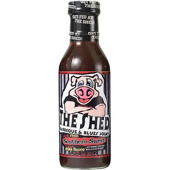 The Shed Original Southern Sweet BBQ Sauce 15 oz.