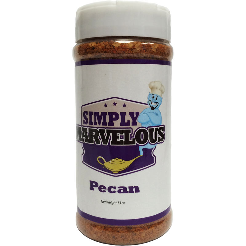 Simply Marvelous Pecan Rub 12 oz. - The Kansas City BBQ Store