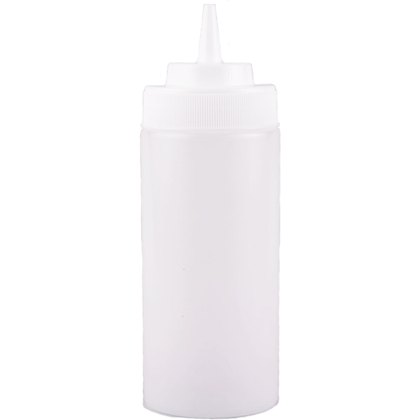 Wide Mouth Squeeze Bottle 16 oz.