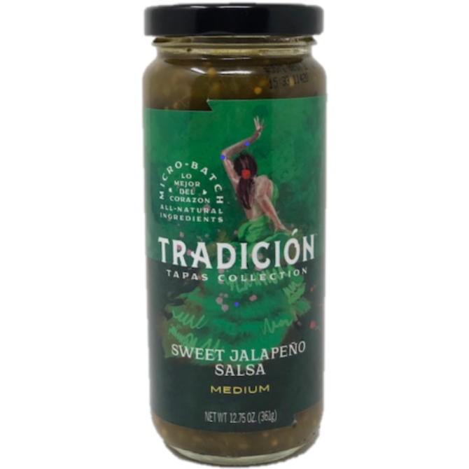 TRADICIÓN Sweet Jalapeño Salsa 12.75 oz. - The Kansas City BBQ Store