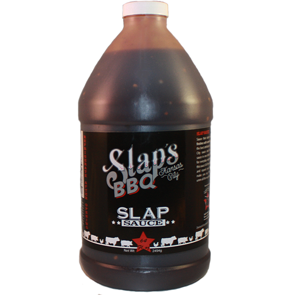 Squeal Like a Pig Slaps Sauce 64 oz. - The Kansas City BBQ Store