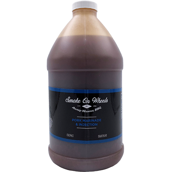 Smoke on Wheels Pork Marinade & Injection 1/2 Gallon - The Kansas City BBQ Store