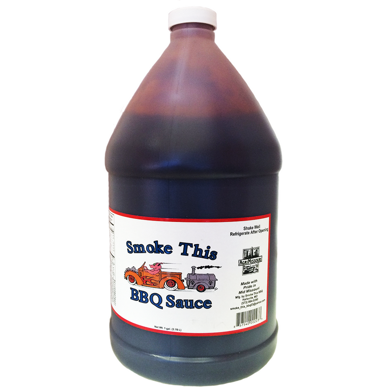 Smoke This Kansas City Style BBQ Sauce Gallon
