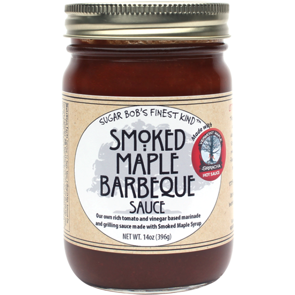 Sugar Bob's Smoked Maple Barbeque Sauce, 14 oz.