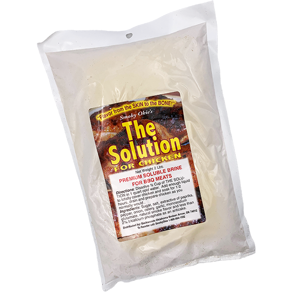 Smoky Okie's The Solution Brine 2 lbs.