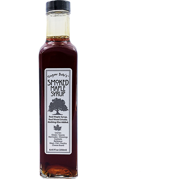 Sugar Bob's Smoked Maple Syrup 8.45 oz. - The Kansas City BBQ Store