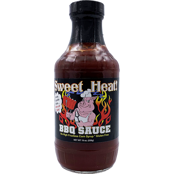 Sweet Heat BBQ Sauce 19 oz.
