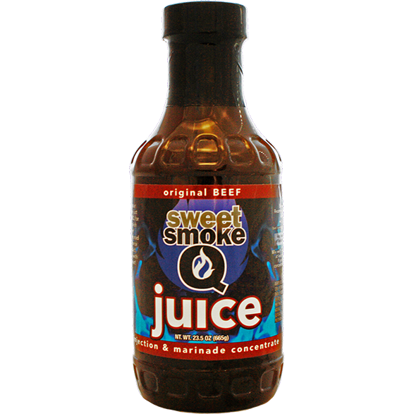 Sweet Smoke Q Juice Original Beef Injection & Marinade Concentrate 23 oz. - The Kansas City BBQ Store